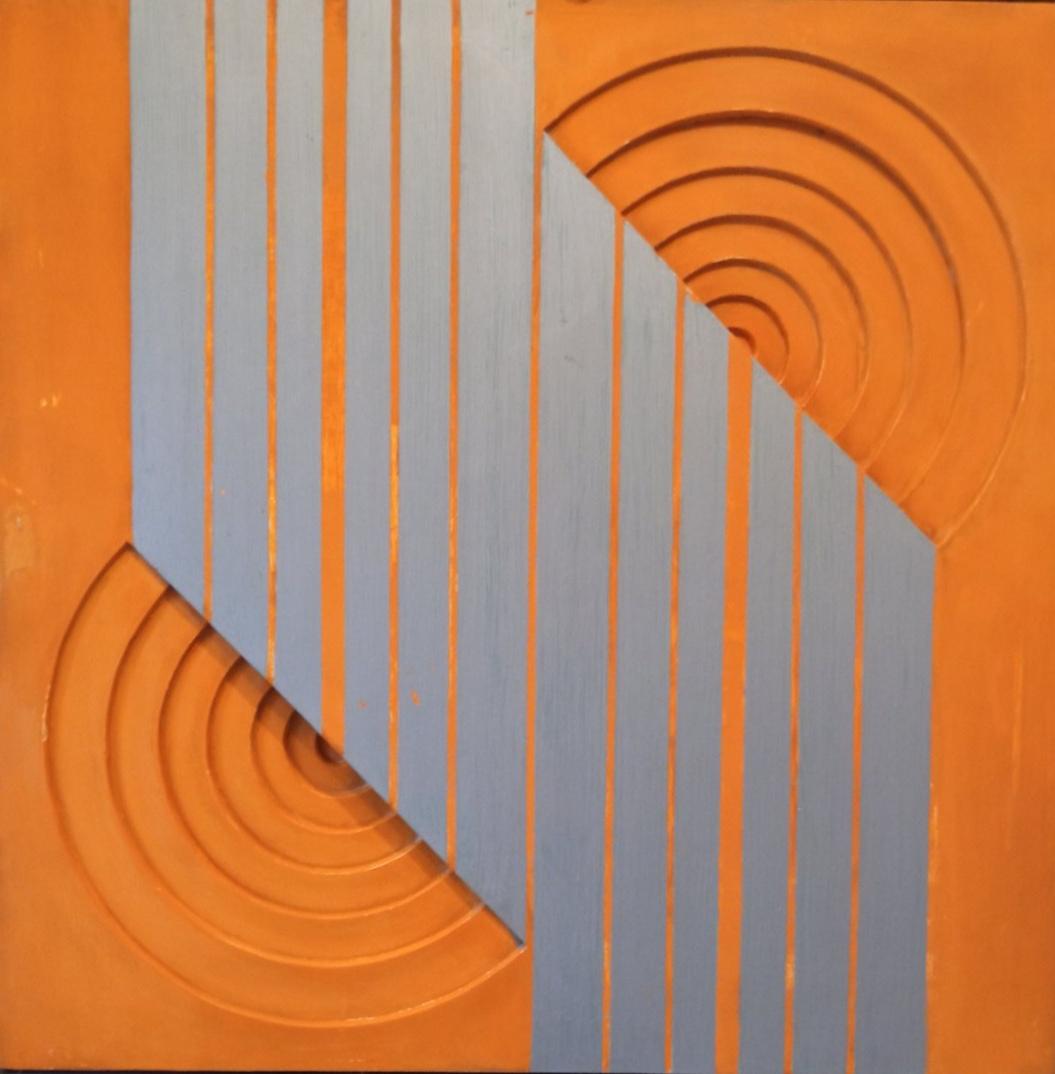 MILENA ČUBRAKOVIĆ<BR><BR> Geometrijska kompozicija B (1962)